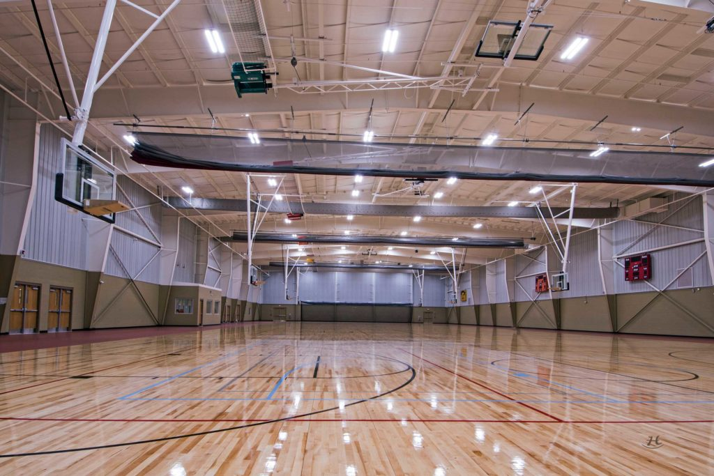 Ephram White Park Gym Interior
